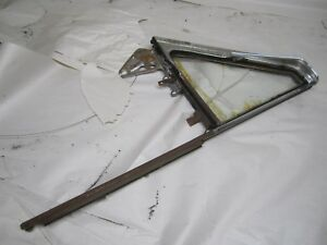 1950 Cadillac 2 Door Drivers Side Door Vent Wing Assembly