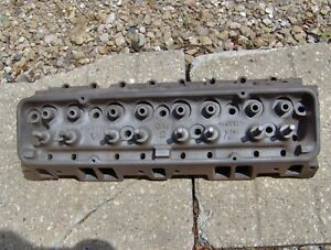 1958 58 Corvette Chevy Impala 283 Power Pack Cylinder Head 3748770