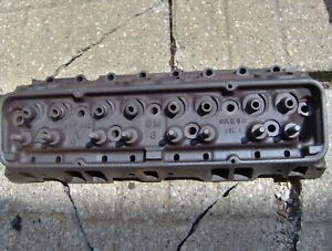 1960 60 Corvette Chevy Impala 283 Power Pack Cylinder Head 3774692