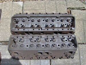 1960 60 Corvette Chevy Impala 283 Power Pack Cylinder Heads 3774692