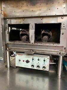 Nieco Hamburger Conveyor Charbroiler Grill Gas Make Offers Must Go