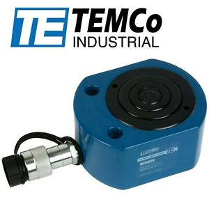 Temco Hc0029 Telescoping Hydraulic Cylinder Tons 49 6 13 7 5 Stroke 59 1 0