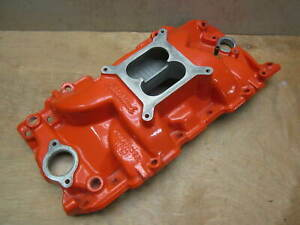 Edelbrock Performer Rpm 7163 Big Block Chevy Square Port Intake Manifold 396 454