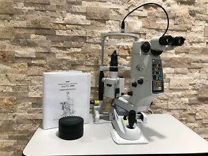 Refurbished Nidek Yc1800 Ophthalmic Yag Laser W Power Table Manual