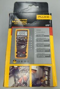 Fluke 177 True rms Multimeter With Backlight New Open Box