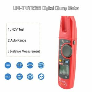 Ut256b Auto Range 200a Ac dc Current True Rms Digital Fork Type Clamp Meter Bn