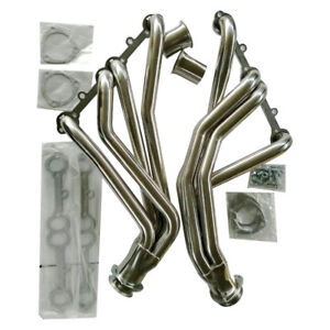 Long Tube Header Exhaust For 67 77 Action Line Sbc Stainless Racing Manifold