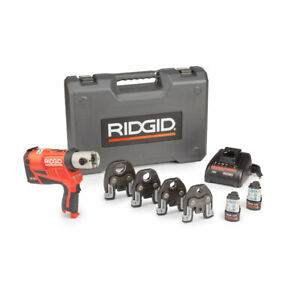 Ridgid 57398 Rp 240 Compact Press Tool Kit With 1 2 1 1 4 Propress Jaws