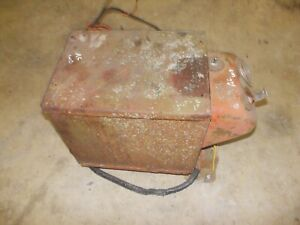 Allis Chalmers Wd Wd45 Tractor Ac Complete Battery Box Lid Amp Box Harness