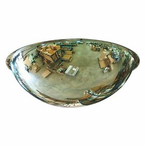 Full Dome Mirrored See 18 360 Degree See Through Acrylic With Installation Kit