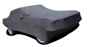 Onyx Satin Stretch Indoor Car Cover For 1965 1968 Ford Mustang Coupe Convertible