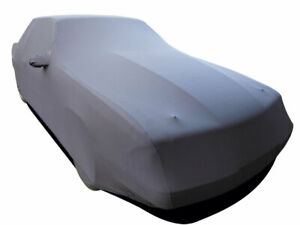 Onyx Satin Stretch Indoor Car Cover For 1986 1993 Ford Mustang Fastback Lx
