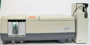 Shimadzu Uv 1700 Pharmaspec Uv vis Spectrophotometer W Syringe Sipper N