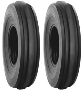 Two 2 4 00 15 Lrb Harvest King F2 Farm Tractor Front Tires And Tubes