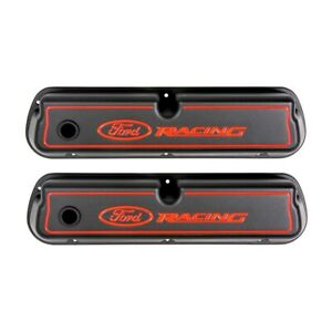 Valve Covers Ford Racing Black red 289 302 351w