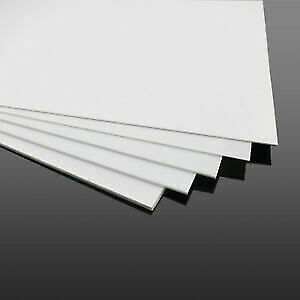 White Abs Thermoforming Plastic Sheets 060 X 2 X 3 450 Ct