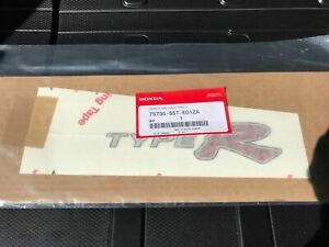 New Jdm Genuine Honda Civic Type R Right Side Sticker Decal Side 2001 2005 Japan