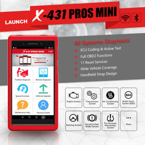 Launch X431 Pros Mini Obd2 Scanner Wifi bluetooth Scan Tool For Gmc Ford Toyota