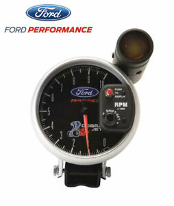 1979 2014 Mustang Cobra Jet Ford Racing 5 Tachometer Rpm Tach Gauge Shift Light