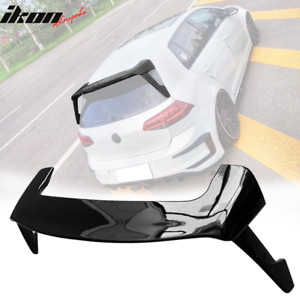 Fits 15 19 Vw Golf Gti Mk7 Style Rear Trunk Spoiler Wing Lid Abs Gloss Black