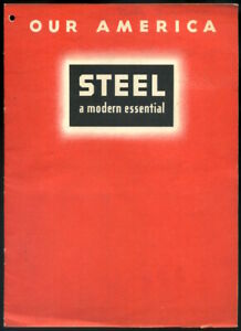 1942 COCA-COLA Our America: Steel student booklet with all stickers