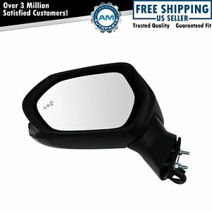 Exterior Side View Door Mirror Heated Turn Signal Blind Spot Paint To Match Lh