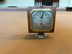 Antique Auto Thermometer Gauge Rare 1930s 1950s Accessory Chevy Ford