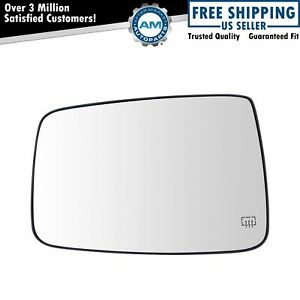 Exterior Mirror Glass Power Heated Lh Diver Side For Dodge Ram 1500 2500 New