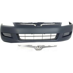 Bumper Cover Kit For 2003 2005 Accord Front 2pc