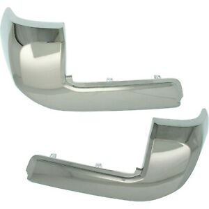 Bumper End For 2016 2018 Toyota Tacoma Set Of 2 Rear Lh And Rh Capa