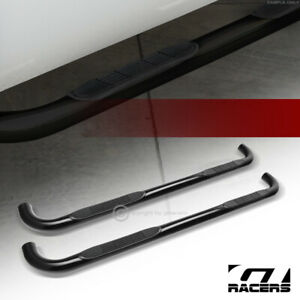 For 2003 2017 Ford Expedition 3 Side Step Nerf Bars Rail Running Board Hd Black
