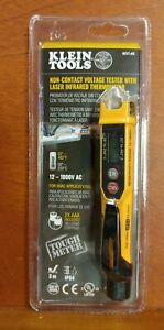 Klein Tools Ncvt4 ir Non contact Voltage Tester W Infrared Thermometer New