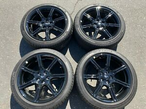 2018 Ford Mustang Factory 19 Wheels Tires Oem Rims Black 10159 Jr371007f