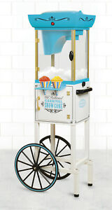 Snow Cone Machine Maker Ice Crusher Commercial Nostalgia Cart Shaved Party New