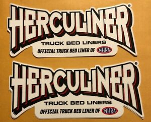 Herculiner Nhra 2 Racing Stickers Decals 2 5x6 Free Shipping Drags Hotrods