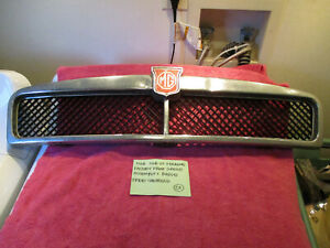 Mgb Mgb Gt Factory Oem Grille Assembly Including The Front Badge Free Shipping
