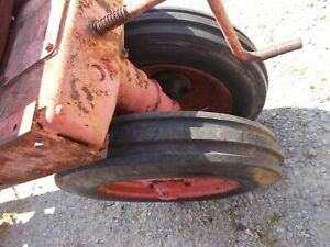 Allis Chalmers Wd45 Wd Wc Tractor Ac Rims 5 50 X 16 Americ Farmer Front Tires