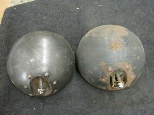 Mopar 1933 Plymouth Headlamp Housings Bucket Pair Headlight
