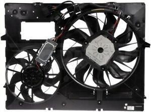 New Engine Radiator Dual Cooling Fan Assembly With Controller Dorman 621 451