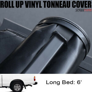 For 95 04 Toyota Tacoma Regular access 6 Bed Lock Roll Up Soft Tonneau Cover