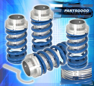 For 95 99 Tercel Adjustable Lowering Spring Coilover Sleeves Number Scale Blue