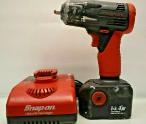 Snap on 3 8 Drive 14 4v Nicad Cordless Impact Wrench