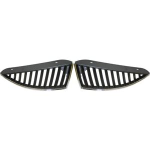 Grille For 2004 2005 Mitsubishi Lancer Set Of 2 Left Right Side Black Plastic