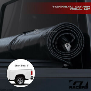 For 2015 2019 Colorado canyon Crew Cab 5 60 Bed Lock Roll Soft Tonneau Cover