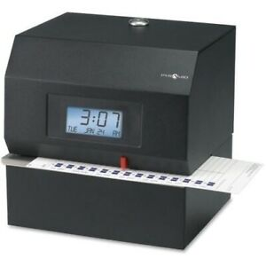Pyramid Time Systems 3700 Heavy duty Electric Time Clock 3700