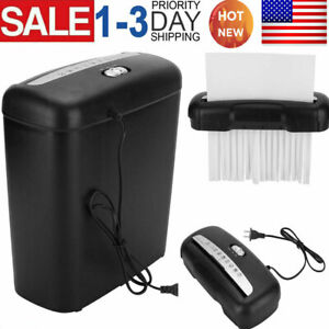 Commercial Home Office Shredder Paper Destroy Stripe Cut Heavy duty Credit Card