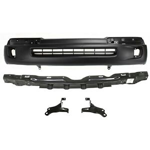 New Bumper Cover Facial Kit Front For Toyota Tacoma 1998 2000