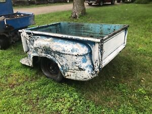 1955 Chevrolet Gmc Pickup Truck Short Bed Box With Tailgate 1956 1957 1958 1959