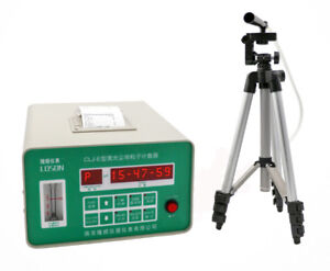 Portable Digital Air Dust Laser Particle Counter With Printing Function 220v