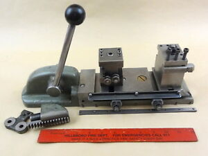 Rare Original South Bend 9 10k Lathe Handlever Double Tool Cross Slide Dts 104n